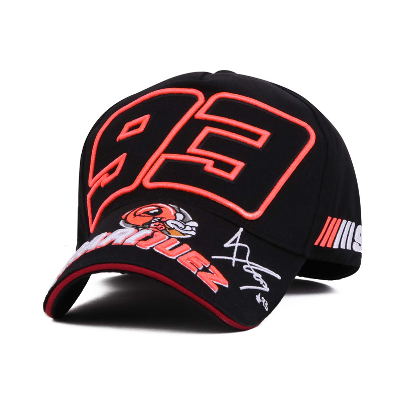 Hot sell Moto Gp Cap Marc Marquez 93 Motorcycle Racing Cap Outdoor Sports Baseball Cap Marquez Letter Gorras Snapback Swag Brand(China (Mainland))