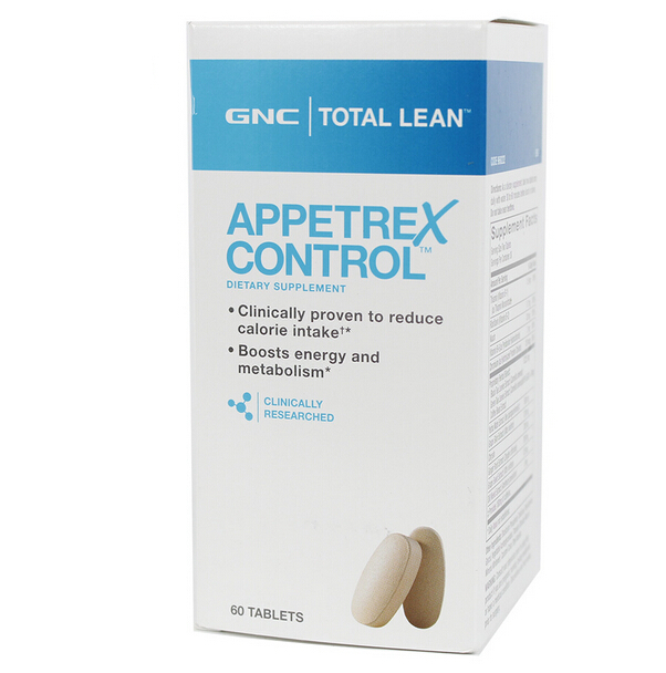 100% USA Original Total Lean Appetrex Control 60 Tablets reduce calorie intake Boosts energy and metabolism Free shipping(China (Mainland))
