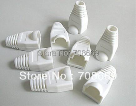 1000 pcs Ethernet CAT5 CAT6 RJ45 Strain Plug Cover Boot(China (Mainland))