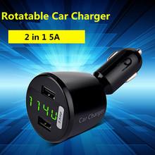 Микро авто универсальный двойной автомобильное зарядное устройство для iPad iPhone 5 В 2.1A мини-адаптер защиты от короткого замыкания автомобильное зарядное устройство 4 цветов
