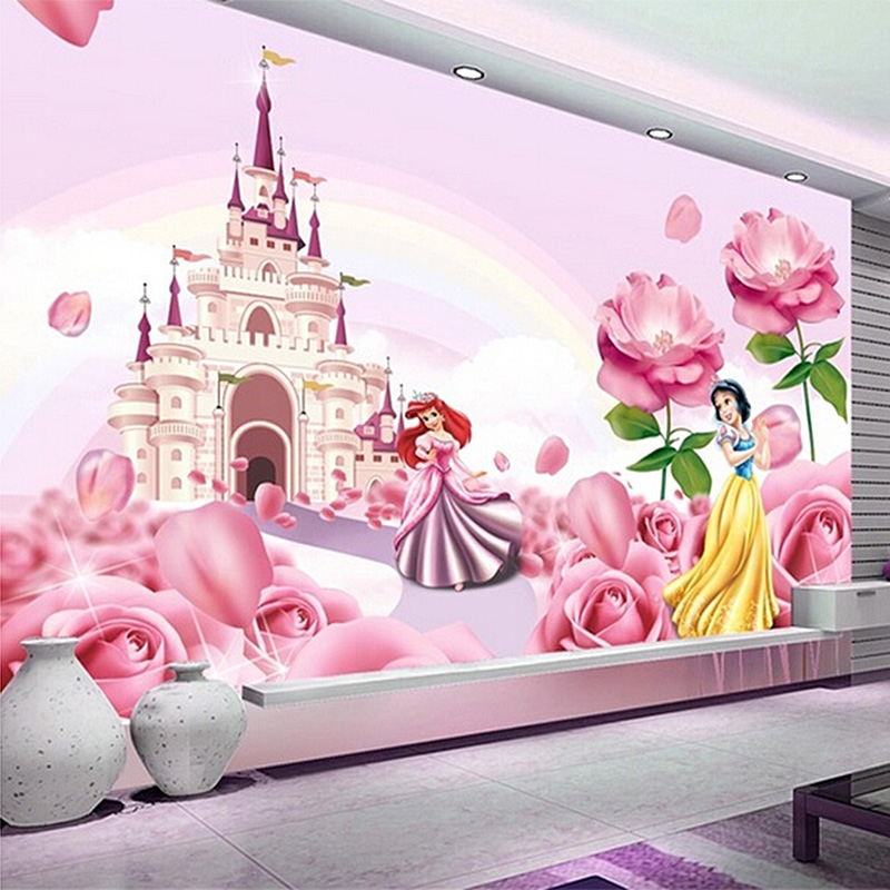 compare prices on castle wall paper online shopping buy disney princess scroll castle prepasted wall mural