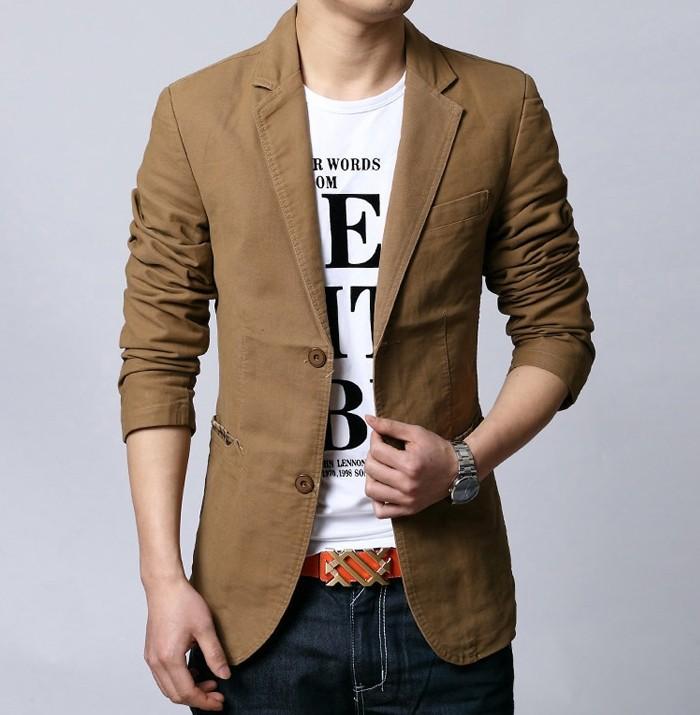 spring 2015 suit men brand casual jacket terno masculino latest coat designs blazers men urban clothing pea coats S-6XL(China (Mainland))