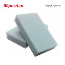 Buy 50pcs/lot Gray Magic Sponge Eraser Cleaning Multi-functional Melamine Sponge 100*60*20mm Wholesale for $3.91 in AliExpress store