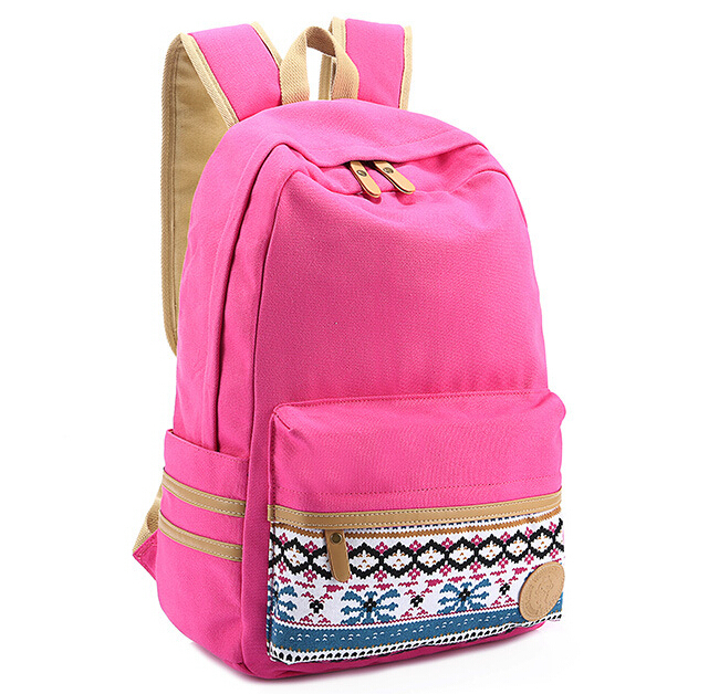 lovely fashion girls casual backpack women school bags for