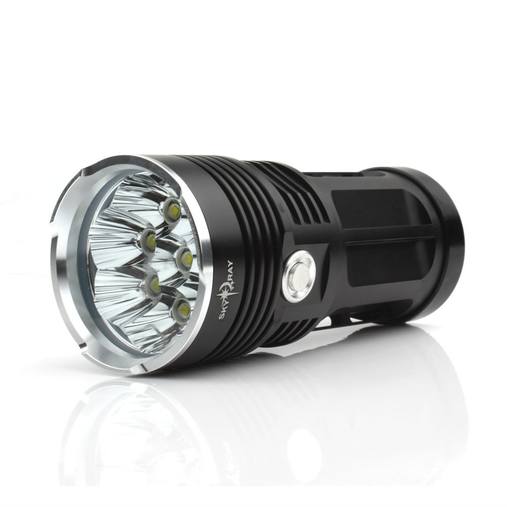 12000LM Outdoor Waterproof 3-Mode 8 x XML T6 LED SKYRAY Hunting Camping Hiking Flashlight Torch Lamp<br><br>Aliexpress