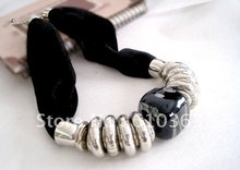 New Design Woman Choker clothing Jewel Scarves collar statement ceramic beads pendant necklace,direct factory supply(China (Mainland))