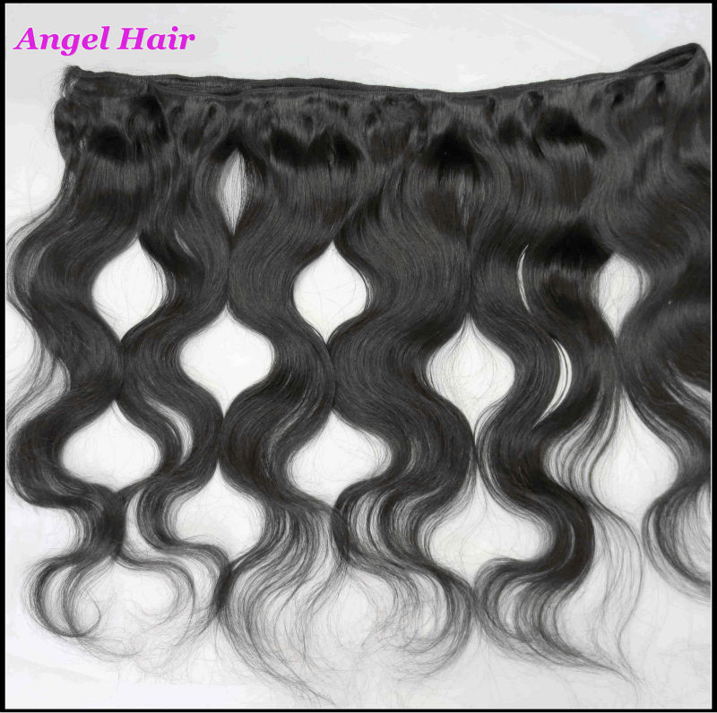New Shop Promotion!100%Virgin Mongolian Human Hair Accessories, 3 Bulks Unprocessed Remy Hair Extension,Free Shipping(China (Mainland))