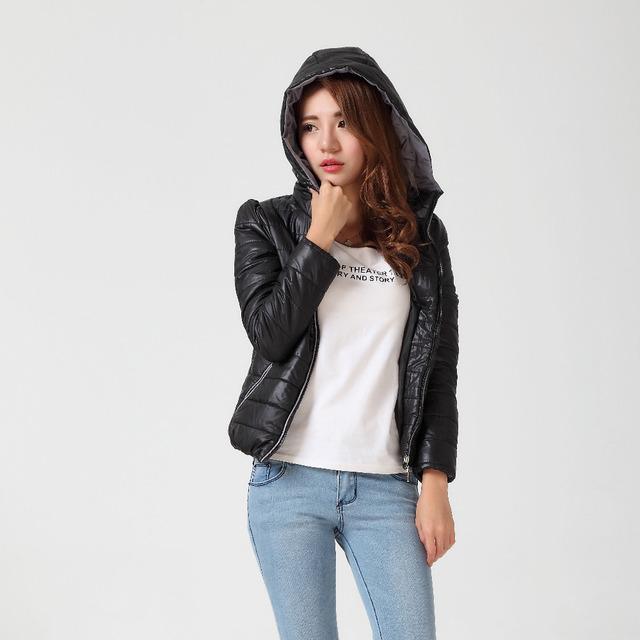 S-XXXL Products Promotions Модный Тонкий winter jacket Женщины plus Размер Хлопок ...