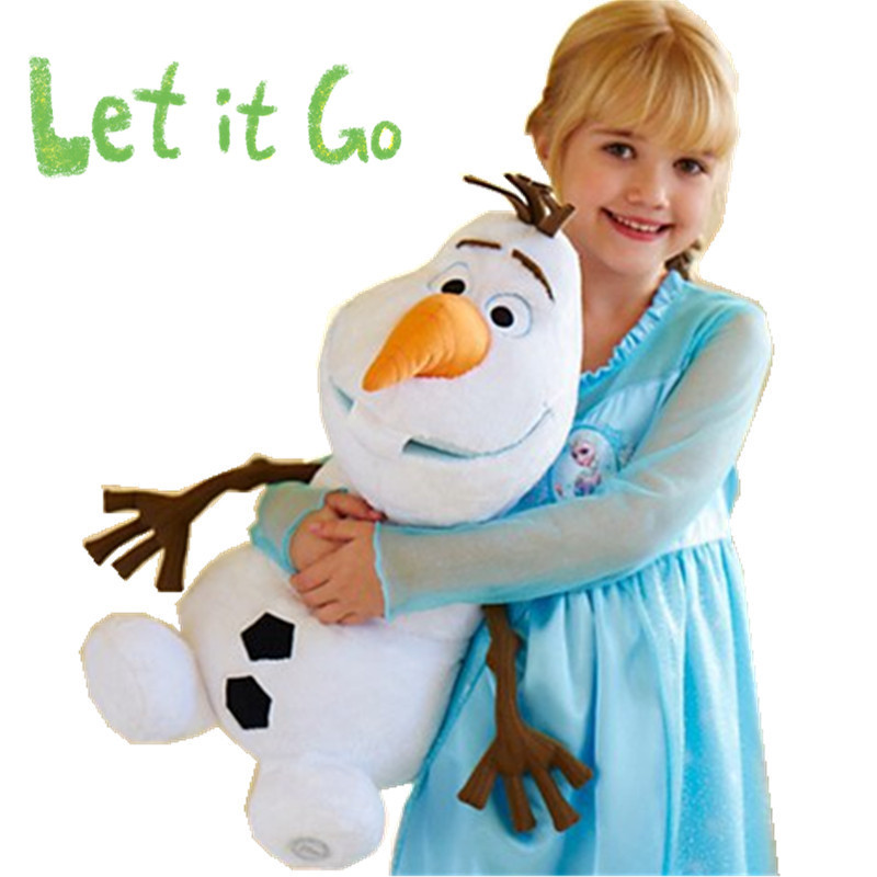 OLAF Plush Toys Doll 50cm 19.7inch Brinquedos Snowman pelucia Olaf peluche 2015 for Baby boys girls kid Children Christmas Gift(China (Mainland))