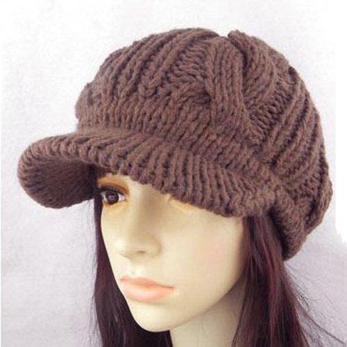 Beanie Hat Crochet Pattern With Brims Crochet Rib Brim Slouchy Hat