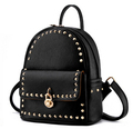 Japan And South Korea Backpack With Rivets 2015 New Shoulders Bag