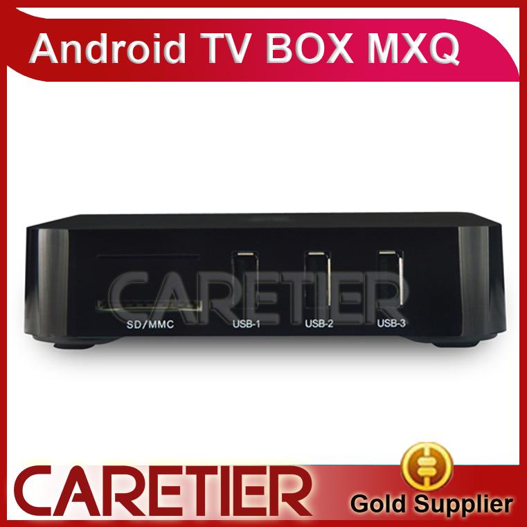 Телеприставка OEM MXQ Android TV Box Amlogic S805 1G /8G HDMI OTG RJ45 USB h.265/hevc 1080P XBMC Miracast Bluetooth 1080p android management software 8g pcba board