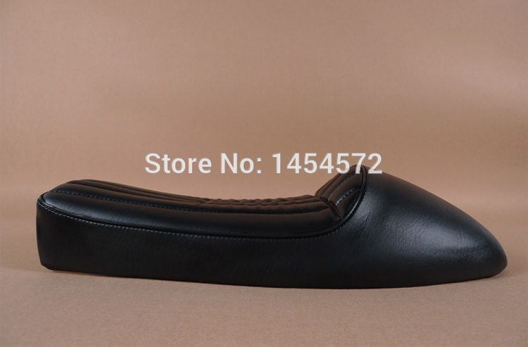 Black Greens Diamond Motocycle seat CG125 GN125 Cafe Racer Seats CB 250 Cafe Racer Parts GN125 Seat