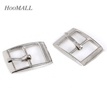 Hoomall 30PCs Metal Shoes Buckles Clips Sewing Buckles For Bags Sewing Accessories 25x19mm Silver Tone(China (Mainland))