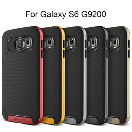 NEW fashion VERUS v1 brand neo Hybrid PC+TPU case for samsung galaxy s6 G9200 phone case back cover skin for galaxy s6 g9200(China (Mainland))