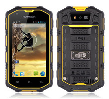 Original 4.0Inch Guophone Hummer H5 IP67 Dustproof Waterproof Android 4.0 WCDMA 3G Smartphone Shockproof GPS Mobile Phone(China (Mainland))