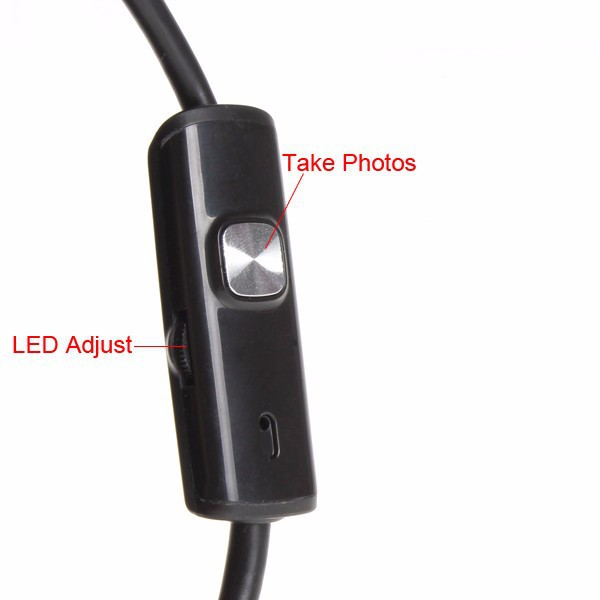 5.5mm OD OTG USB Android Endoscope Camera 5M 3.5M 2M 1M 720P Snake Tube Inspection Waterproof MicroUSB Andorid Borescope Camera