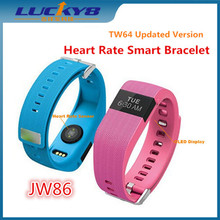 JW86 100% Original Smart watch Wristband Heart Rate Monitor sports Healthy smart band Bracelet for Android/iOS Fitness Tracker