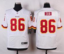 Washington Redskins #86 Jordan Reed #28 Darrell Green #24 Josh Norman #23 DeAngelo Hall Elite White and Burgundy Red Team Color(China (Mainland))