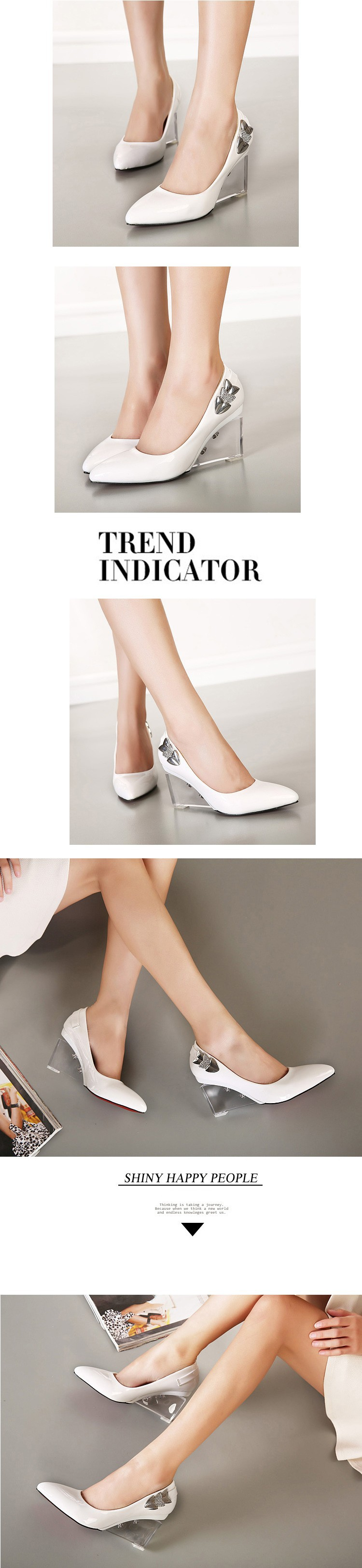 Туфли на высоком каблуке 611/5 611-5