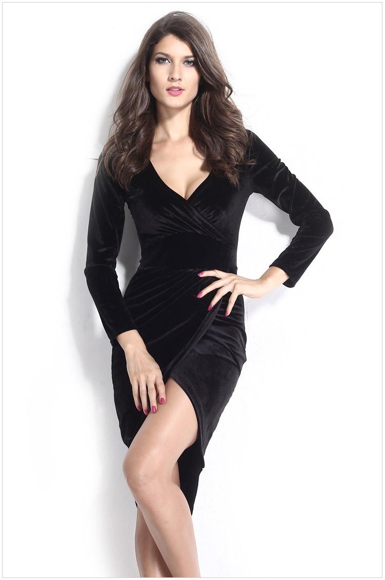 Женское платье Dear Lover roupas v/necj Faux vestidos LC21669