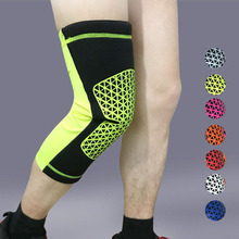 Buy 1pc Elastic Sports Leg Knee Support Brace Wrap Protector Kneepads Sleeve Cap Patella Guard Volleyball Knee Pads sports s25 for $10.08 in AliExpress store