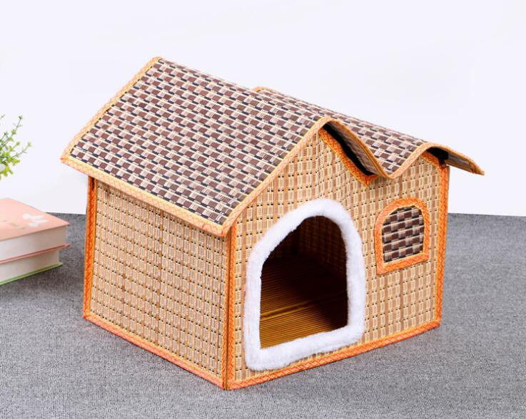 Spring and summer dogs house roof nest mouth stuffed spot provide pet supplies can unpick and wash wholesale free shipping HK79(China (Mainland))