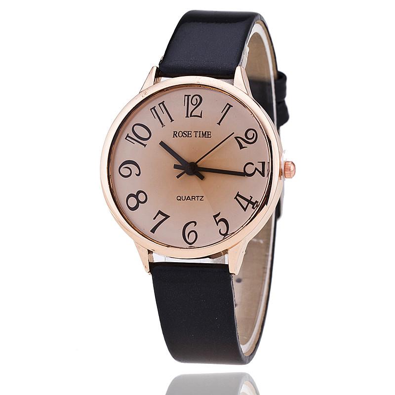 Гаджет  New Women Fashion Bright Leather Strap Watches Ladies Wrist Quartz Watch Dress Watch AW-SB-886 None Ювелирные изделия и часы