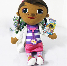 1 Piece 35cm Free Ship Doc McStuffins Clinic Soft Plush Stuffed Toy Kid Girl Christmas gifts Lovely Doctors Girls Toys