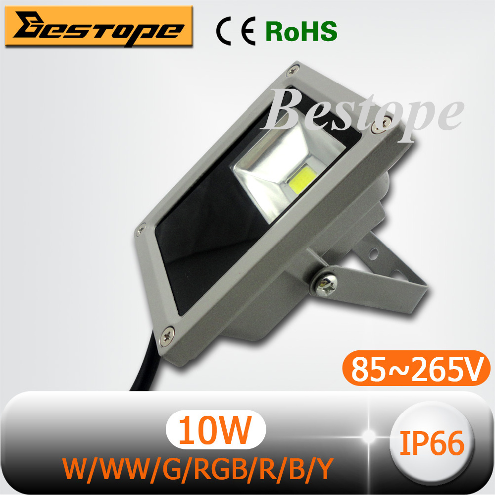 Waterproof LED Flood Light 10W AC85V~265V Warm / Cool White/Red/Blue/Green/Yellow/RGB - ShenZhen Bestope Technology Limited store