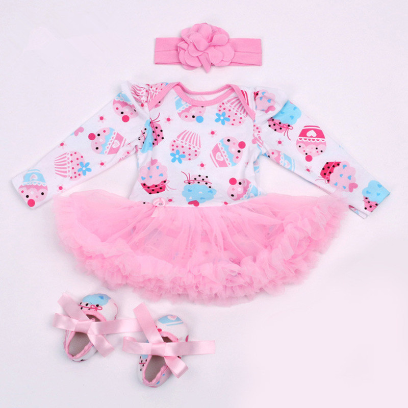 Special Price For Baby Girl Christening Gowns 2016 Spring Autumn Pink Newborn Baby Infant Princess Dress Roupa Vestidos Infantis(China (Mainland))