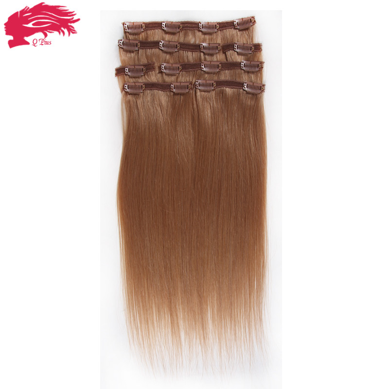 Clip In Human Hair Extensions African American 51