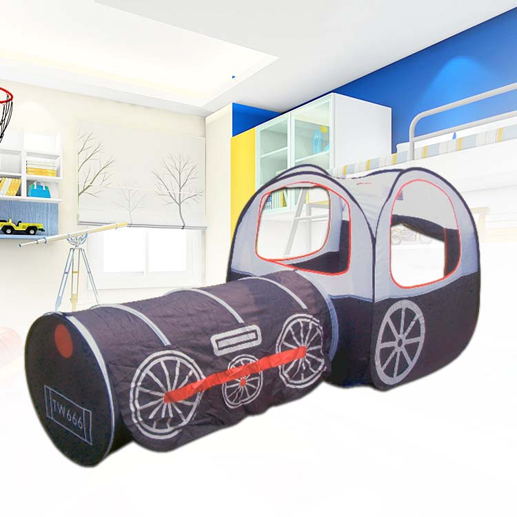Free shipping, wholesale USD220 / 10PCS, black train pop up play tent<br><br>Aliexpress