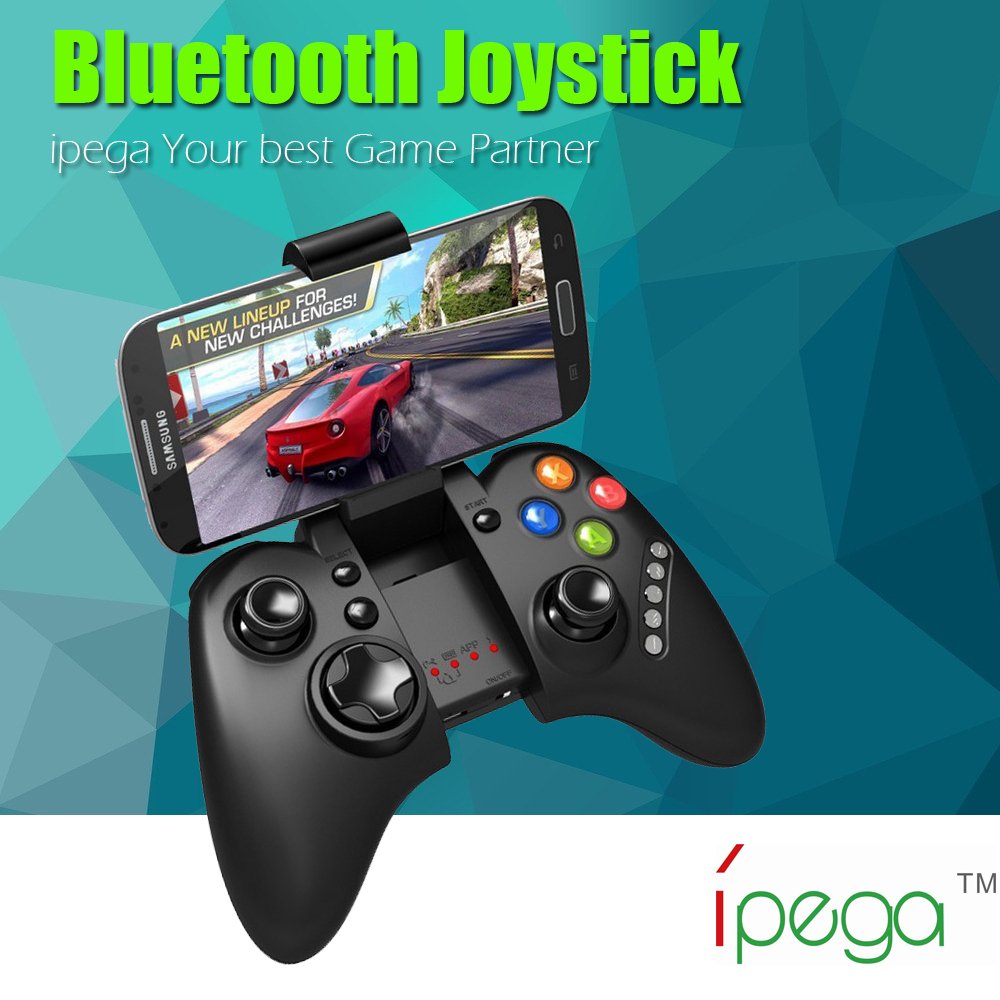 PG-9021 iPega Wireless Bluetooth Game Gaming Controller Joystick Gamepad for Android / iOS MTK cell phone Tablet PC TV BOX<br><br>Aliexpress