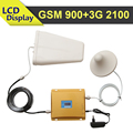 LCD Display GSM 3G Mobile Signal Booster GSM 900mhz 3G WCDMA UMTS 2100mhz Cellphone Signal Repeater