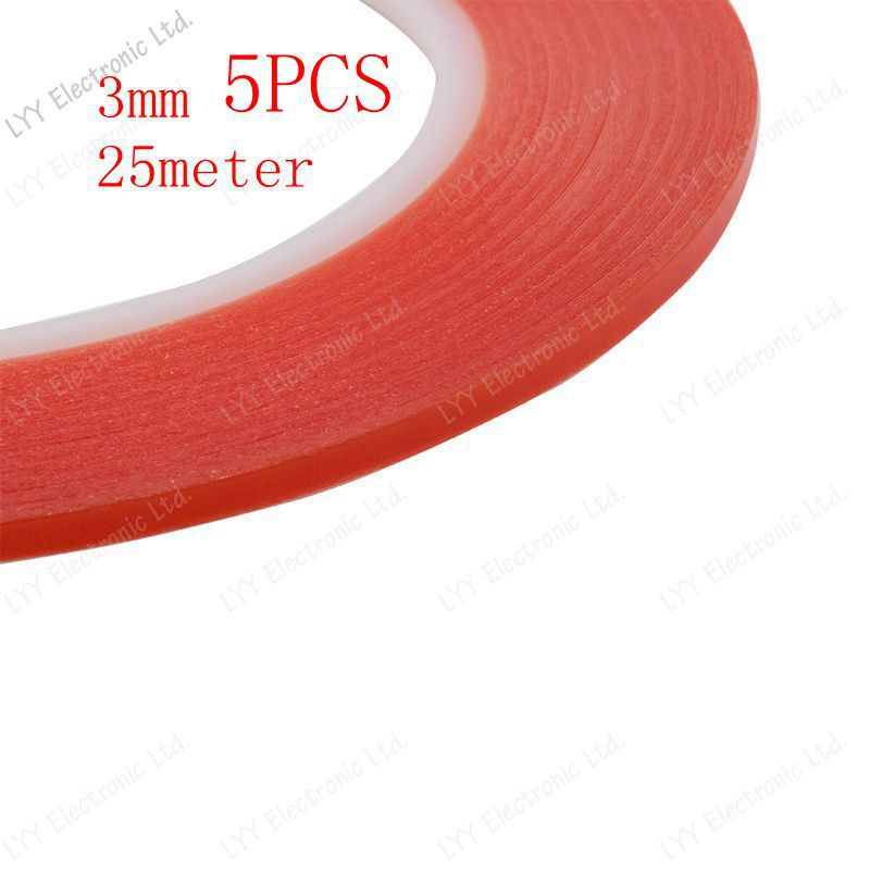 Скотч 5pcs /3 25 3m Fr  Sticker Double Side Adhesive Tape  transparent россия шк в ярославле 25 5