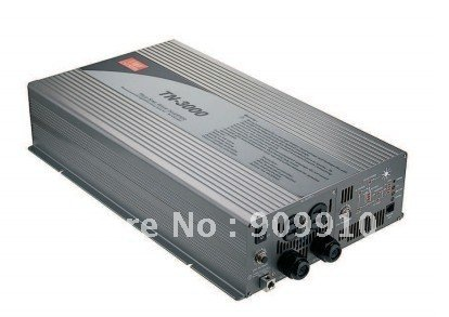 Mean Well 3000W/peak 6000W true sine wave 12/24/48VDC to 110/220VAC power inverter with Solar Charger(China (Mainland))