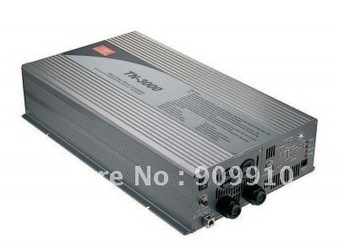 Mean Well 3000W/peak 6000W true sine wave 12/24/48VDC to 110/220VAC power inverter with Solar Charger