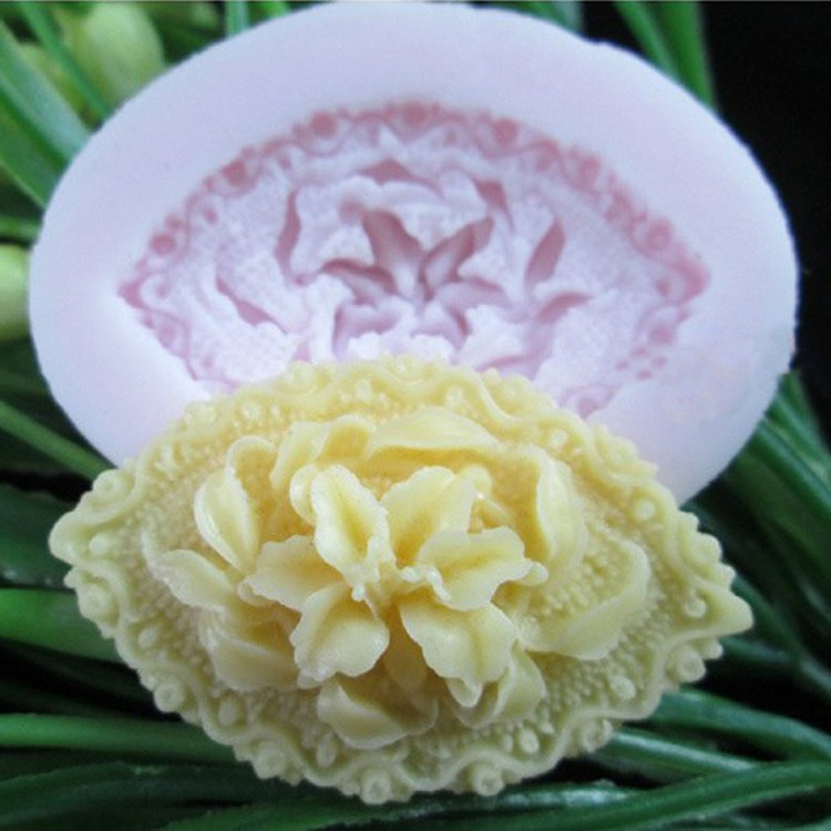 Creative 1 Pcs Rose Flower Silicone Cake Mold 3D Silicone Chocolate Mould Cake Decor Cake Baking ToolsFondant Tools FM096(China (Mainland))