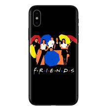 Central Perk Coffee friends tv show how you doin Black silicone Phone Case Cover For iPhone X XS XR MAX 5 5 6 6 7 7 8 8 Plus S E(China)
