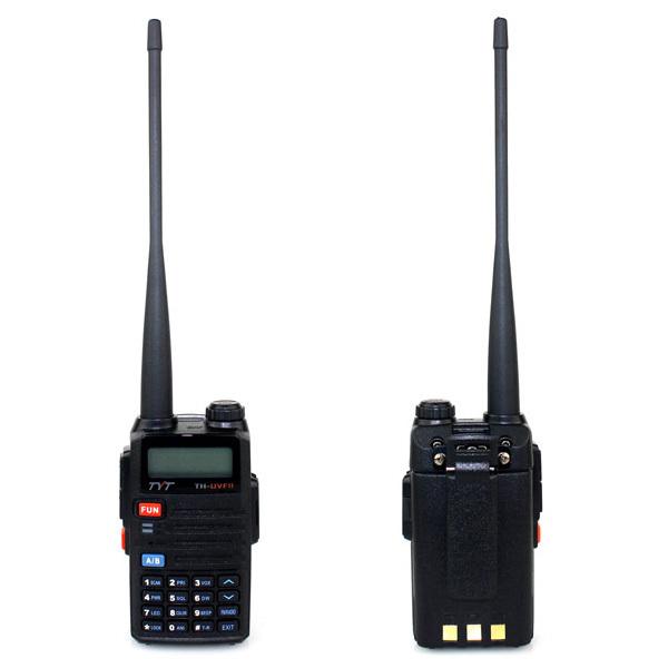 New Radio Walkie Talkie TYT TH-UVF11 256CH VHF+UHF 5W VOX FM Radio Dual PTT SOS Emergency Talk Around DTMF Shift Repeater A7150A(China (Mainland))