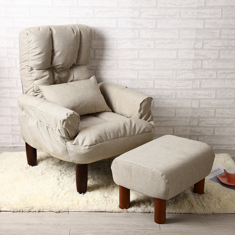 bedroom recliner. Modern Living Room Chair And Ottoman Fabric Upholstery Furniture Bedroom  Lounge Reclining Armchair with Footstool Accent Recliner louisvuittonukonlinestore com