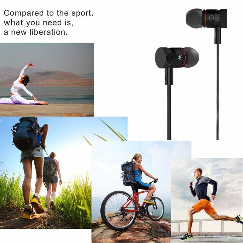 LYMOC Wirelss Magnet Bluetooth Earphone M9 Sport Sweatproof Wireless Headset HD MIC Handfree CVC6.0 Heavy Bass For iPhone XiaoMi