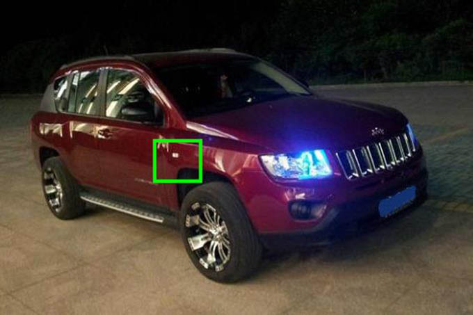 Replacement Parts fit for jeep patriot compass grand cherokee external fender Side Turn Signals lamp house