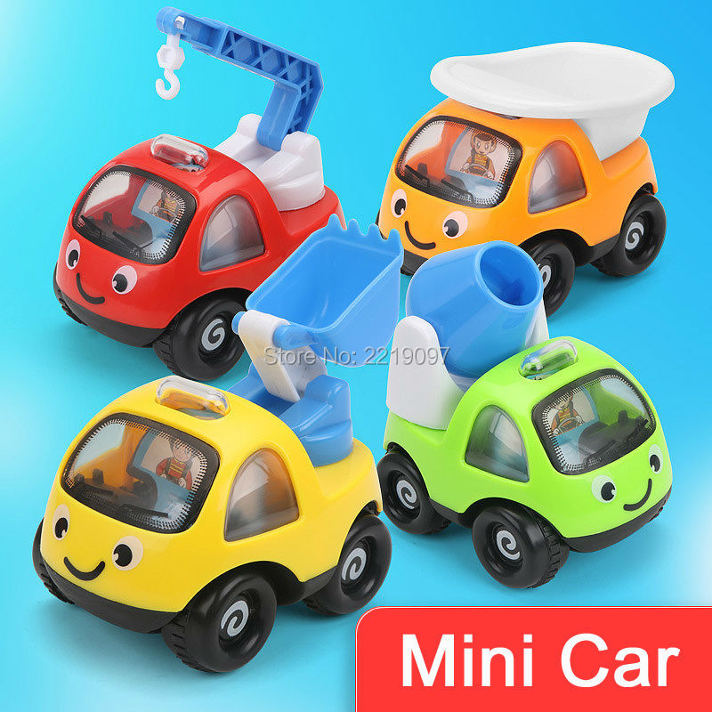 High Quality Funny Mini Cars Cartoon Pull Back Sand Tools Truck Kids Beach Playing Toys Vehicles Children Racing Car Model Gifts(China (Mainland))