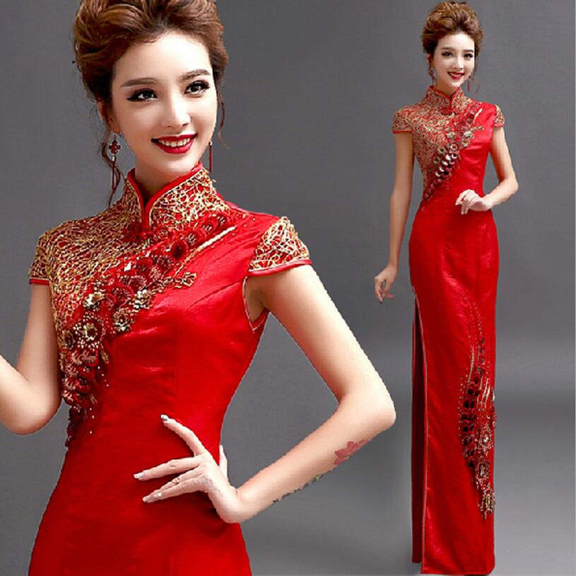 Китайское женское платье