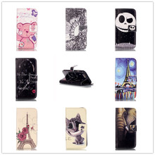 """Buy Fashion 3D Relief Painted PU Leather Cover Apple iPhone 6 6S 6G 4.7"""" Wallet Flip Card Holder Stand Function Phone Case for $3.49 in AliExpress store"""