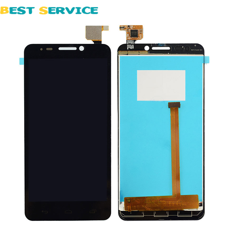 Black LCD Display + Digitizer Touch Screen for Alcatel One Touch Idol 6030 OT6030 6030D OT6030D OT6030X OT6030A(China (Mainland))