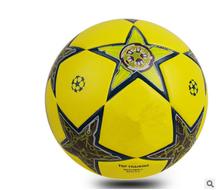 2016 New Champions League football European  Seamless World Cup PU paste skin match ball Hight quality soccer ball(China (Mainland))
