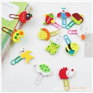 (1Pcs/Sell) New Paper Clips Clips De Papel Binder Clips Photo Holder Office Accessories Wonder Clips Cute Gift Bureau Accessoire(China (Mainland))